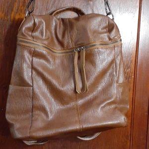 Handbags - Brown shoulder bag / backpack handbag
